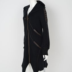 Rozen Kavalier Leather-style Hoodie