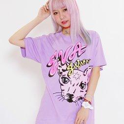 Eva Cheung x galaxxxy Cat T-Shirt