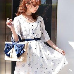 LIZ LISA Dot Rose Dress