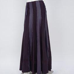 Rozen Kavalier Wrinkle Effect Long Skirt