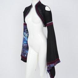 Ozz Oneste Moonlight Water Lily Kimono Sleeve Shrug