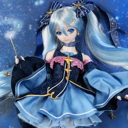 Snow Miku Twinkle Snow Doll Outfit Set