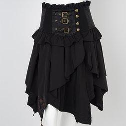 Ozz Oneste Autumn Rose Wrap Skirt