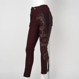 Ozz Croce Magical Circle Print Skinny Pants