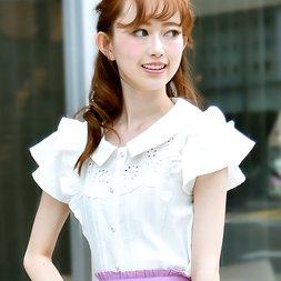 LIZ LISA Ruffle Shirt