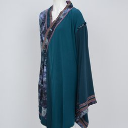 Ozz Oneste Moonlight Water Lily Kimono Sleeve Cardigan