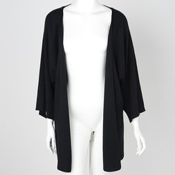 Rozen Kavalier Ribbed Knit Cardigan