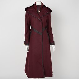 Rozen Kavalier Arabesque Embroidered Coat
