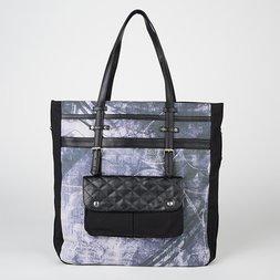 Ozz Conte Grunge Print Tote Bag