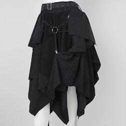 Ozz Croce Mesh Drape Skirt