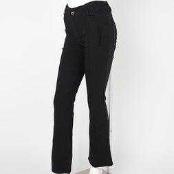 Rozen Kavalier Black Bootcut Pants
