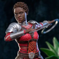 Battle Diorama Series Black Panther 1/10 Scale Nakia