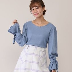 Honey Salon Candy Sleeve Top