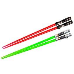 Star Wars Lightsaber Chopsticks: Darth Vader & Luke Skywalker Battle Set