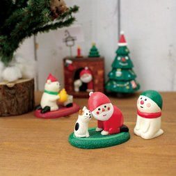 concombre Xmas Mini Figure Ornaments Vol. 1
