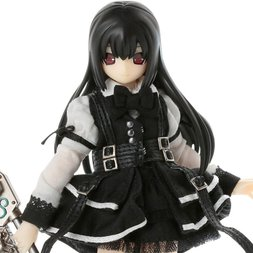 Black Raven II Lilia The Darkness Full of City: Black Shadow Edition 1/12th Scale Doll
