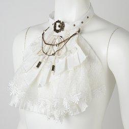 Rozen Kavalier Lace-Up Jabot