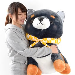 Mameshiba San Kyodai Mamejiro Dog Plush (Super Jumbo)