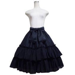 Atelier Pierrot Shantung Frill Skirt