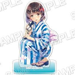 Saekano: How to Raise a Boring Girlfriend Megumi Kato Yukata Ver. Acrylic Figure