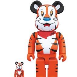 BE@RBRICK Tony the Tiger 100% & 400% Set