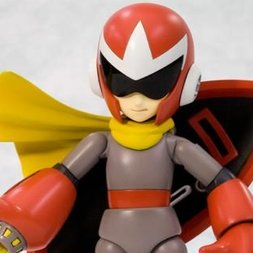 Mega Man Proto Man Plastic Model Kit (Re-run)