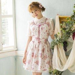 LIZ LISA Grape Rose Long Jumper Skirt