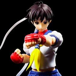 S.H.Figuarts Street Fighter IV Sakura Kasugano