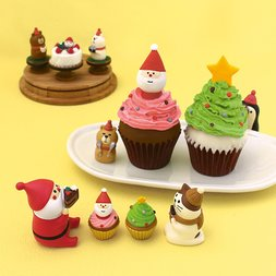 concombre Pastry Combre Christmas Diorama Collection