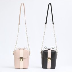 Honey Salon Gift Box Shaped Shoulder Bag