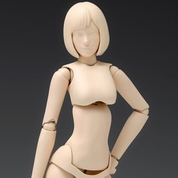 1/12 Scale Movable Body Female Type [Ver. A] Plastic Model SR-022