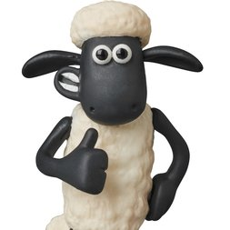 Ultra Detail Figure Aardman Animations #1: Shaun the Sheep Shaun