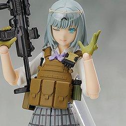 figma Little Armory Rikka Shiina: Summer Uniform Ver.