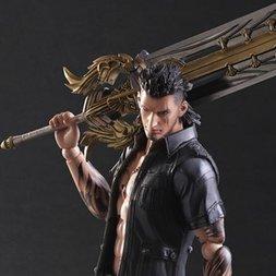 Play Arts Kai: Final Fantasy XV: Gladiolus Amicitia