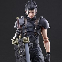 Play Arts Kai Crisis Core: Final Fantasy VII Zack Fair