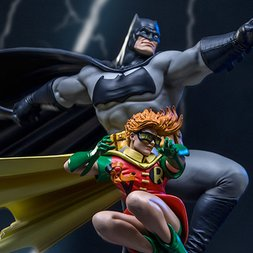 Art Scale The Dark Knight Returns Batman & Robin -Frank Miller Edition- 1/10 Scale Statue