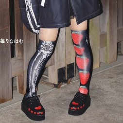 ACDC RAG Strawberry Knee-High Socks