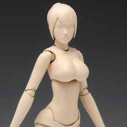 1/12 Scale Movable Body Female Type [Ver. C] Plastic Model SR-024