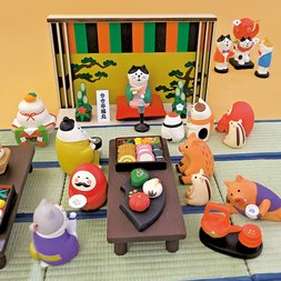 concombre New Year Theater Diorama Collection