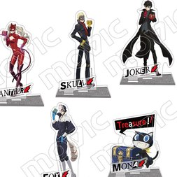 Persona 5 the Animation Treasure Acrylic Stand Collection