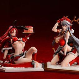Valkyria Chronicles Duel Selvaria Bles & Juliana Everhart -X'mas Party- 1/7 Scale Figure Set