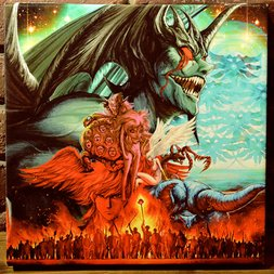 Devilman Chara Fine Graph Print (Square)