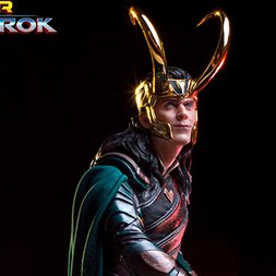 Battle Diorama Series Thor: Ragnarok 1/10 Scale Loki