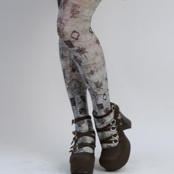Ozz Oneste Antique Motif Tights