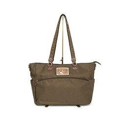 Wachifield Dayan the Cat Brown Shoulder Tote Bag