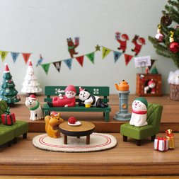concombre Xmas Mini Figure Ornaments Vol. 2