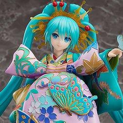 Hatsune Miku: Chokabuki Kuruwa Kotoba Awase Kagami Ver. 1/7 Scale Figure
