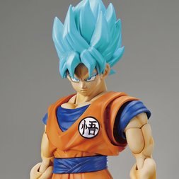Figure-rise Standard Dragon Ball Super: Super Saiyan Blue Son Goku Plastic Model Kit