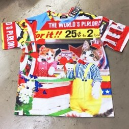 ACDC RAG Name Neko Parasol T-Shirt