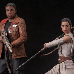 ArtFX+ Star Wars: The Force Awakens Rey & Finn